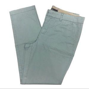 VINCE Chino Pants Classic Light Aqua Trousers